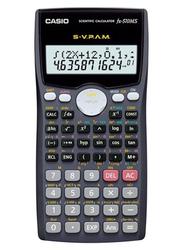 Casio 10+2 Digit Scientific Calculator, FX 570MS, Black/Grey