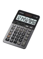 Casio 10-Digit Heavy Duty Office Calculator, JS10B, Black/Grey