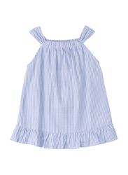 Poney Sleeveless for Girls, 12-18 Months, Blue