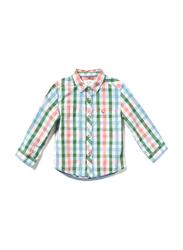 Poney Long Sleeve Shirt for Boys, 9-10 Years, Multicolour