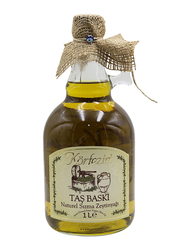 Qenwan Korfezim Stone Pressed Extra Virgin Olive Oil, 1 Liter