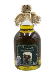 Qenwan Korfezim Early Harvest Extra Virgin Olive Oil, 1 Liter