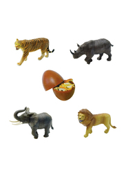 Magic Puzzle 4-Pieces Educational Assorted 3D Animal Toy Egg Puzzle