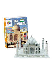 Magic Puzzle 87-Pieces Architecture Taj Mahal Children Educational 3D Jigsaw Puzzle