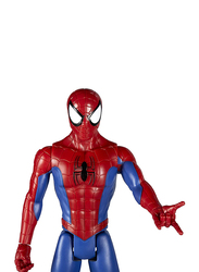 Marvel Spider-Man Titan Hero Series Figure with Titan Hero Power Fx Port Toys for Boys, Red