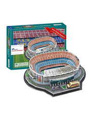 Bellara 3D Puzzle Football Stadium Barcelona Camp Toys for Boys, Multicolor