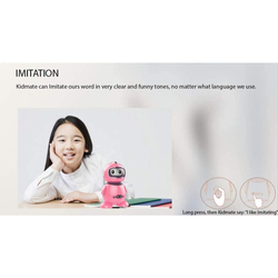 KidKit Smart Educational Robot for Kids, Pink, Ages 3+