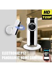UK Plus Fisheye Wireless WiFi Surveillance Camera, 1.44mm Lens, 1.3 MP