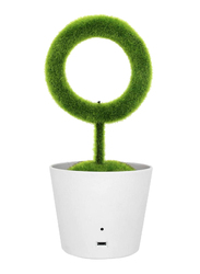 UK Plus Plant Air Purifier, Remove Air Pollutant & Allergen Smoke, Green/White