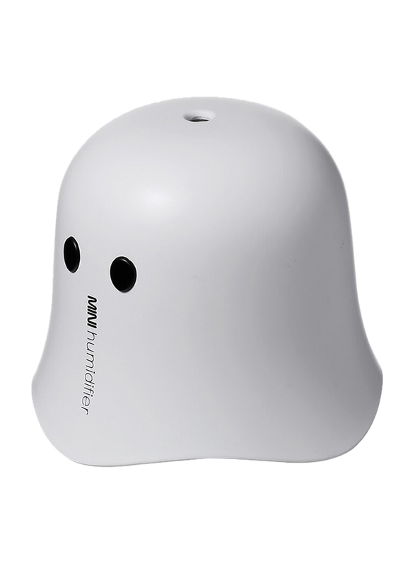 UK Plus Pac-Man Humidifier, 220ml, Aroma Essential Oil Diffuser For Home/Office/Bedroom, White