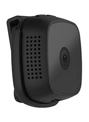 UK Plus FHD Mini Surveillance Camera, with 70 Degree Wide Angle, Black