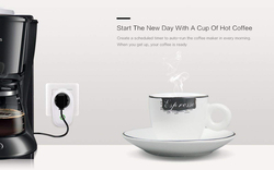 Sonoff S26 WiFi Smart Socket with Wireless Remote Control Plug Compatible with Alexa, PLUG-EU-F, White