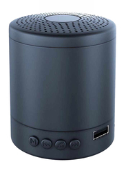 UK Plus Portable Wireless Bluetooth Mini Speaker, Black