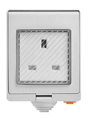 Sonoff S55 WiFi UK Standard Smart Waterproof Socket with Wireless APP Control, AC100-240V, White