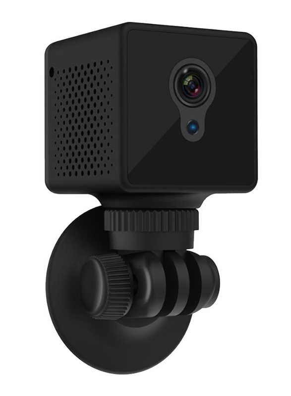 UK Plus 1080p Full HD Mini Portable Wireless Nanny Camera, Black