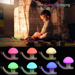 UK Plus USB Rechargeable Color Changing Night Light, White