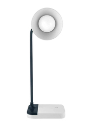 UK Plus Touch-Sensitive LED Flexible Table Lamp with Multi-Light, White