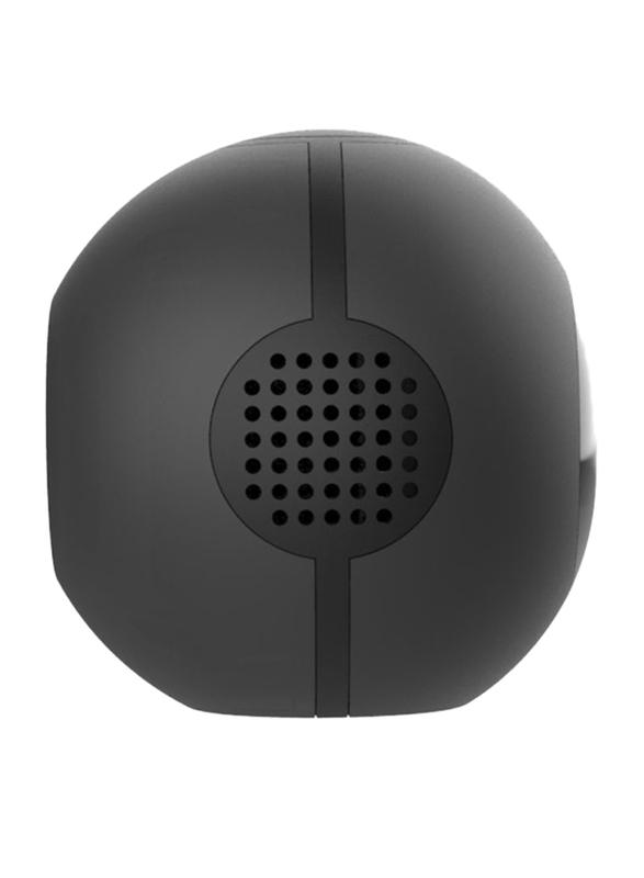 UK Plus 1080p Full HD Mini Portable Wireless Nanny Camera, with 600mAh Battery, Black
