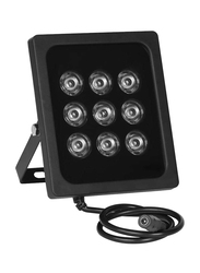 UK Plus IR Illuminators High Power Infrared LED Lights for Security Camera, Black
