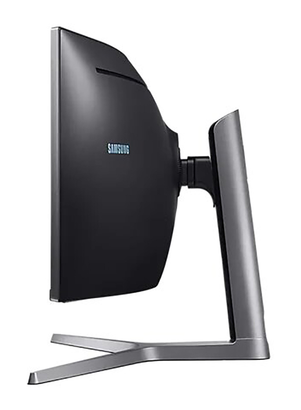 Samsung 49-inch Full HD Curved QLED Gaming Monitor with Metal Quantum Dot Technology, LC49HG90DMMXUE, Black