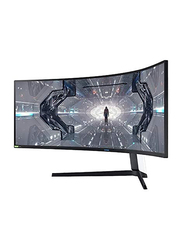 Samsung 49-inch Odyssey G9 Ultrawide Curved LED Gaming Monitor, Lc49g95tssmxue, White