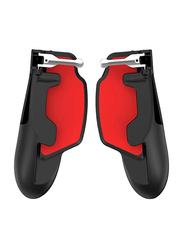Amerteer Mobile Game Joystick Controller for iPad/PUBG/Tablet/Smartphone, Red