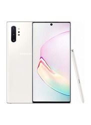 Samsung Galaxy Note 10 Plus 256GB Aura White, 12GB RAM, 4G LTE, Dual Sim Smartphone