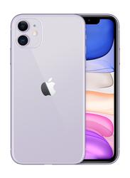 Apple iPhone 11 64GB Purple, With FaceTime, 4GB RAM, 4G LTE, Smartphone