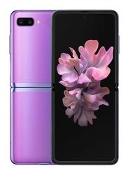 Samsung Galaxy Z Flip 256GB Mirror Purple, 8GB RAM, 4G LTE, Dual SIM Smartphone