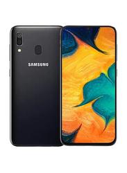 Samsung Galaxy A30s 64GB Black, 4GB RAM, 4G LTE, Dual Sim Smartphone