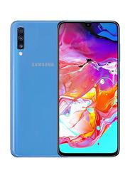 Samsung Galaxy A70 128GB Blue, 6GB RAM, 4G LTE, Dual Sim Smartphone
