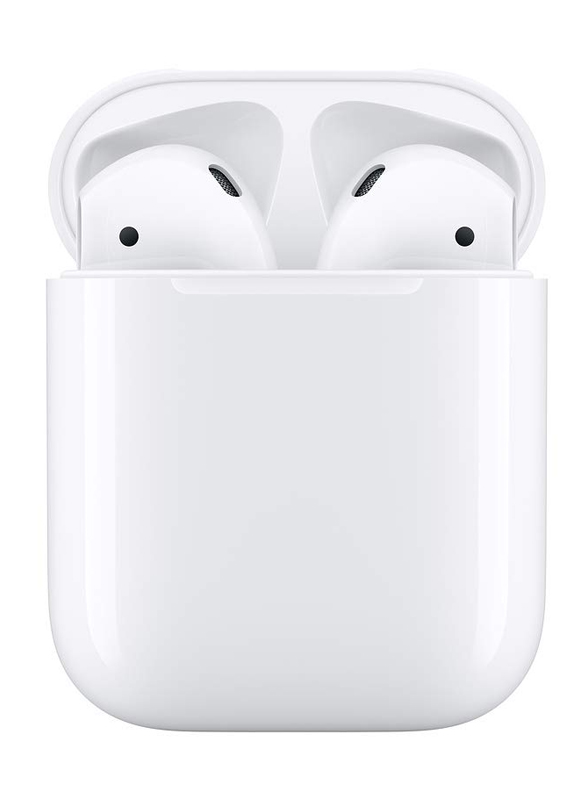 Apple AirPods (2nd Generation) In-Ear Headphones With Wireless Charger, White