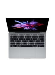 Apple MacBook Pro MPXT2, 13.3 inch Retina Display, Intel Dual Core i5-7360U 7th Gen 2.3GHz, 256GB SSD, 8GB RAM, Intel IRIS Plus Graphics 640, EN KB with TouchID/TouchBar, 2017 Int'l Ver, Space Grey