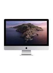 Apple iMac, 27 inch Retina 5K P3 Display, Intel 6-Core i5 9th Gen 3.7GHz, 2TB FD, 8GB RAM, 4GB Radeon PRO 580X Graphics, macOS, Magic Mouse 2, Magic English KB 2, MRR12, Silver