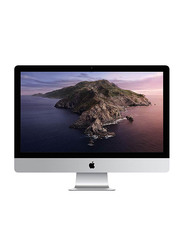 Apple iMac, 27 inch Retina 5K P3 Display, Intel 6-Core i5 8th Gen 3.1GHz, 1TB FD, 8GB RAM, 4GB Radeon PRO 575X Graphics, macOS, Magic Mouse 2, Magic English KB 2, MRR02, Silver