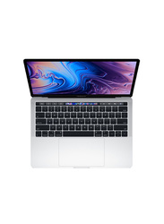 Apple MacBook Pro MUHQ2, 13.3 inch Retina Display, Intel Quad Core i5 8th Gen 1.4GHz, 128GB SSD, 8GB RAM,Intel Iris Plus Graphics 645, EN KB with TouchID and TouchBar, 2018 Intel Ver, Silver