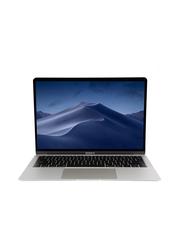 Apple MacBook Air MREA2, 13.3 inch Retina Display, Intel Dual Core i5-8210Y 8th Gen 1.6GHz, 128GB SSD, 8GB RAM, Intel UHD Graphics 617, EN KB with TouchID/TouchBar, 2018 Int'l Ver, Silver