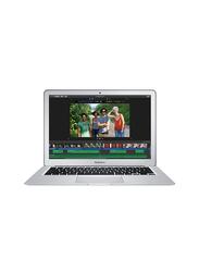 Apple MacBook Air MQD32, 13.3 inch Retina Display, Intel Dual Core i5 5th Gen 1.8GHz, 128GB SSD, 8GB RAM, Intel HD Graphics 6000, EN KB with TouchID/TouchBar, 2017 Int'l Ver, Silver