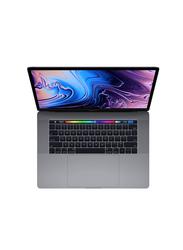 Apple MacBook Pro MR942, 15.4 inch True Tone Retina Display, Intel 6-Core i7 8thGen 2.6GHz, 512GB SSD, 16GB RAM, 4GB GDRR5 AMD Radeon Pro 560X, EN KB TouchID/TouchBar 2018 Int'l Ver, Space Grey
