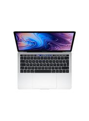 Apple MacBook Pro MR9V2, 13.3 inch True Tone Retina Display, IntelQuad Core i5 8th Gen 2.3GHz, 512GB SSD, 8GB RAM, Intel IRIS Plus Graphics 655, EN KB with TouchID/TouchBar, 2018 Int'l Ver, Silver