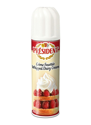 President Fouettee Whipped Dairy Cream Spray, 250g