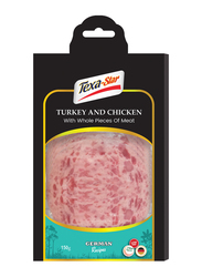 Texa-Star Sliced Turkey and Chicken with Whole Pieces of Meat, 150 grams