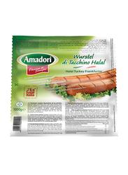 Amadori Turkey Frankfurter Sausage, 1KG