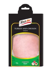 Texa-Star Sliced Turkey and Chicken Salami, 150 grams