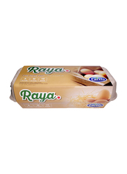 Lactio Raya Free Range Eggs, 10 Pieces