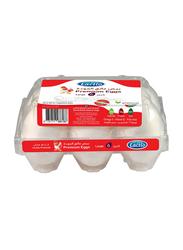 Lactio Premium White Eggs, Large, 6 Pieces