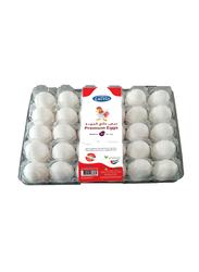 Lactio Premium Brown Eggs, Medium, 30 Pieces