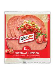 Texa Star 25 inch Wheat Tomato Tortilla, 6 Pieces