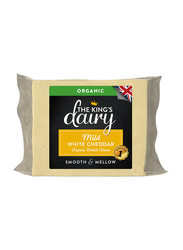 The King's Dairy Organic Mild White Cheddar British Cheese, 200g