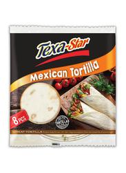 Texa Star 20 inch Wheat Mexican Tortilla, 8 Pieces